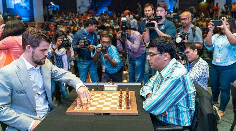 Grand Chess Tour 2019: Magnus Carlsen defeats Viswanathan Anand in round 7