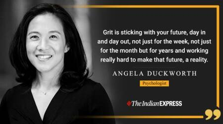 Angela Lee Duckworth, Angela Lee Duckworth inspiring video, Angela Lee Duckworth book, Angela Lee Duckworth grit, Angela Lee Duckworth videos, inspiring videos, life positive, indianexpress.com, indianexpress, good morning messages,