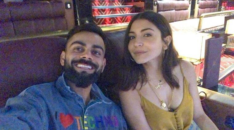 virat anushka photo movie night