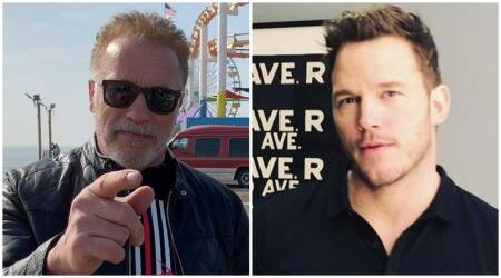 Arnold Schwarzenegger and chris pratt
