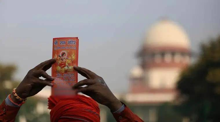 ram temple trust, ayodhya trust, narendra modi, cabinet clears trust for ram temple, indian express