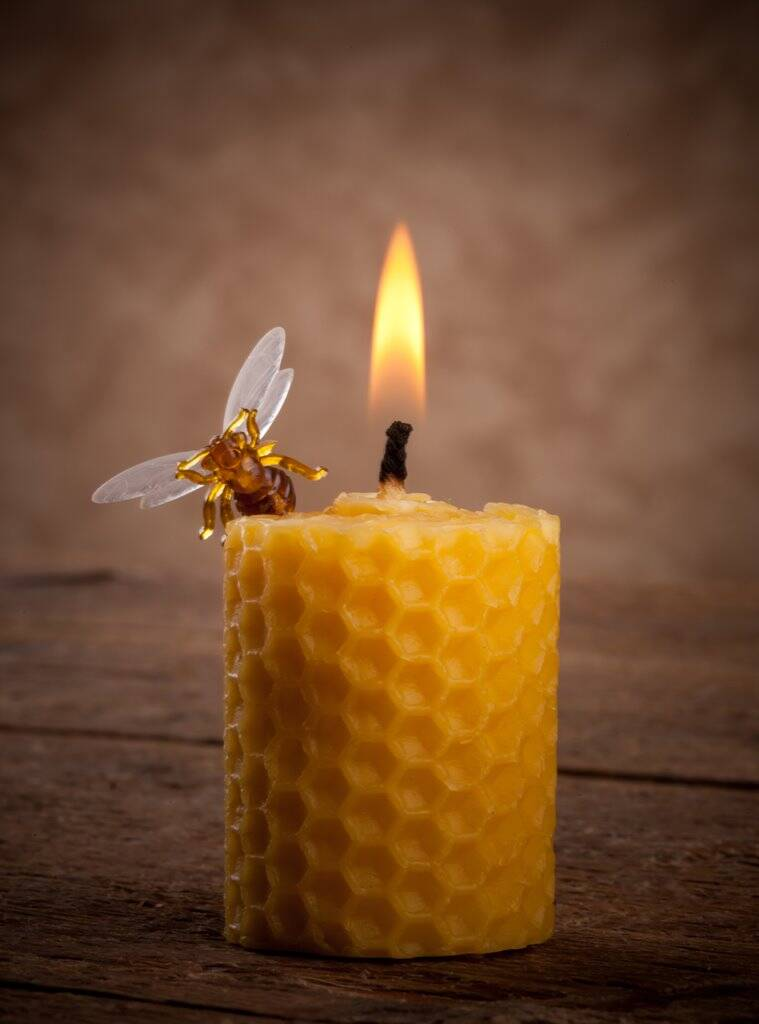beeswax candles, what are beeswax candles, beeswax candles pollution
