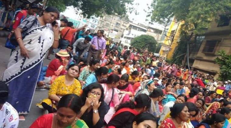 West Bengal, Bengal governor, Jagdeep Dhankhar, Revati Raut, para-teachers strike, West Midnapore district, Group D employees, teachers