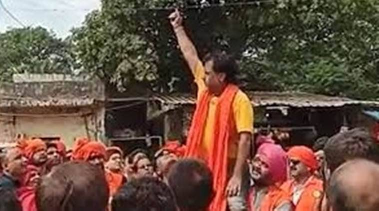 BJP councillor booked for 'firing' during procession