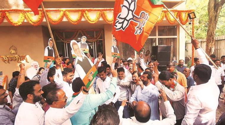 Maharashtra: Celebrations in BJP, confusion in NCP
