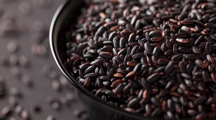 black rice, health benefits, forbidden rice, indian express, indian express news
