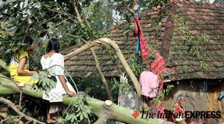 Cyclone Bulbul disrupts normal life in West Bengal and Bangladesh
