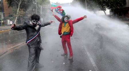 Chile's protests shrink in size after nearly 3 weeks