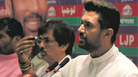paswan, chirag paswan ljp new president, ram vilas paswan, lok janshakti party ljp, ljp leadership, who is the leader of lok janshakti party ljp, lok janshakti party latest update, indian express news