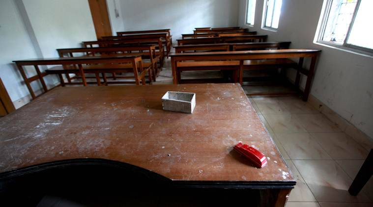 Andhra Pradesh: Two students tied to bench for 'naughty' behaviour; probe ordered