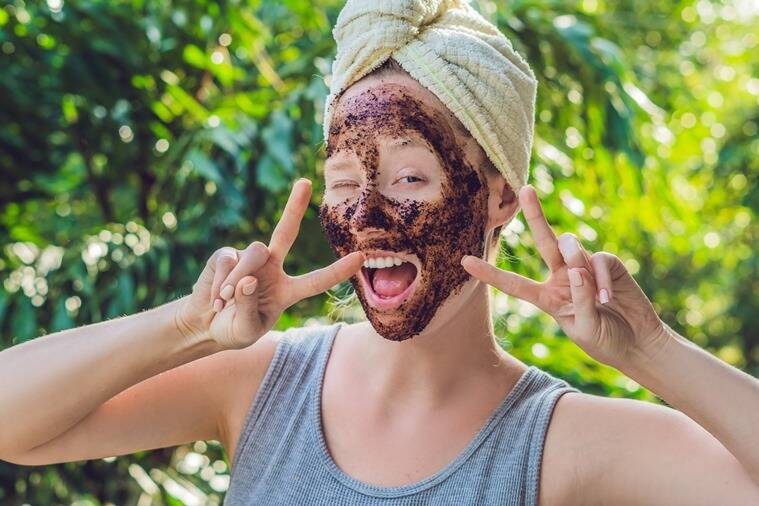 benefits of coffee for skin, coffee skincare tips, coffee face masks, coffee skincare routine, skincare tips, skincare, indian express, lifestyle