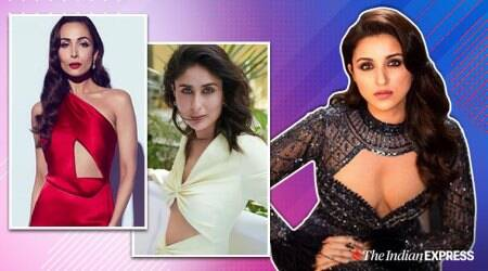 cut-out dress, cut-out dress trend, cut-out dress fashion, cut-out dress style, kareena kapoor latest photos, malaika arora latest photos, karisma kapoor latest photos, celeb fashion, trend alert, indian express