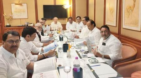 Maharashtra latest developments, Congress-NCP meeting in Maharashtra, Shiv Sena, Amit Shah on Maharashtra, Sharad Pawar, Ajit Pawar, all you need to about Maharashra political developments, indian express