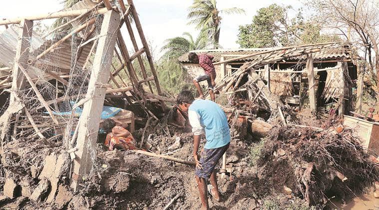 Cyclone Bulbul, Cyclone Bulbul destruction, Bulbul, Cyclone Bulbul West Bengal, West Bengal Cyclone Bulbul, India news, Indian Express