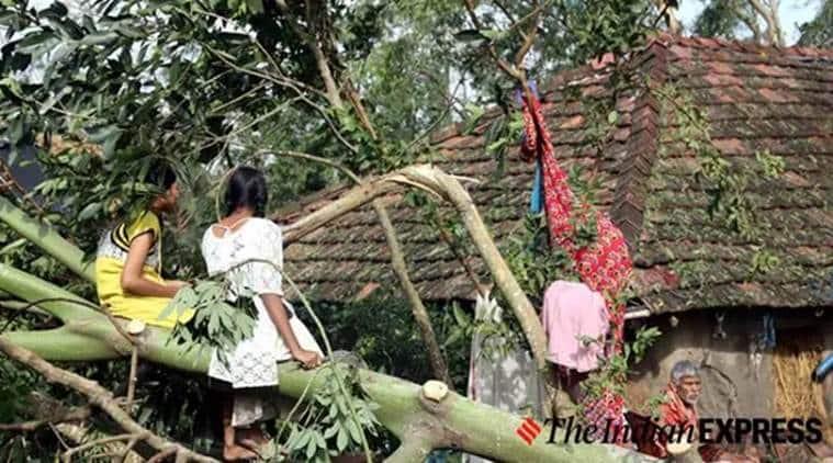 Cyclone Bulbul, Cyclone Bulbul West Bengal, Bulbul, Bulbul cyclone, Bulbul cyclone West Bengal, India news, Indian Express