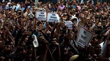 Delhi police protests, Tis hazari court violence, Lawyers-police clash at saket court, delhi news, Indian express