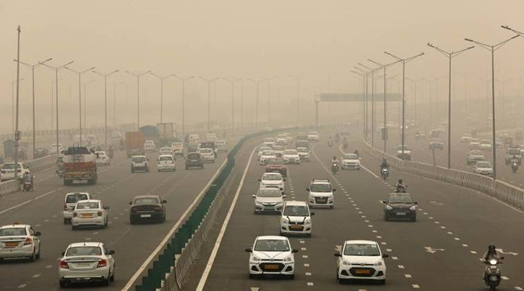 Delhi pollution, delhi weaather today, delhi news, Delhi air quality, Delhi air pollution, Delhi smog, air quality Delhi, Delhi pollution levels, SAFAR, Delhi air quality index, Delhi AQI, Delhi news, city news, Indian Express