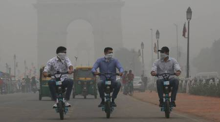 coronavirus impact on air pollution, air pollution delhi, coronavirus news, coronavirus Delhi, Indian express news