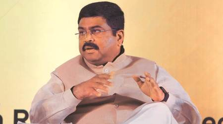 india on track to cut crude oil import dependence, dharmendra pradhan, dharmendra pradhan on crude oil import dependence, oil minister dharmendra pradhan, petroleum minister dharmendra pradhan, indian express news