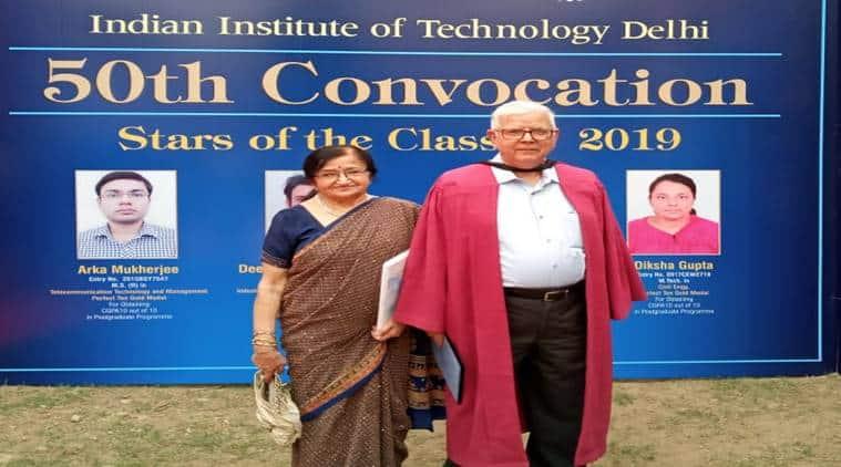 iit delhi, SK dhawan, eldest PhD holder, Phd convocation, upsc, ies, union public service commission, civil engineering, education news