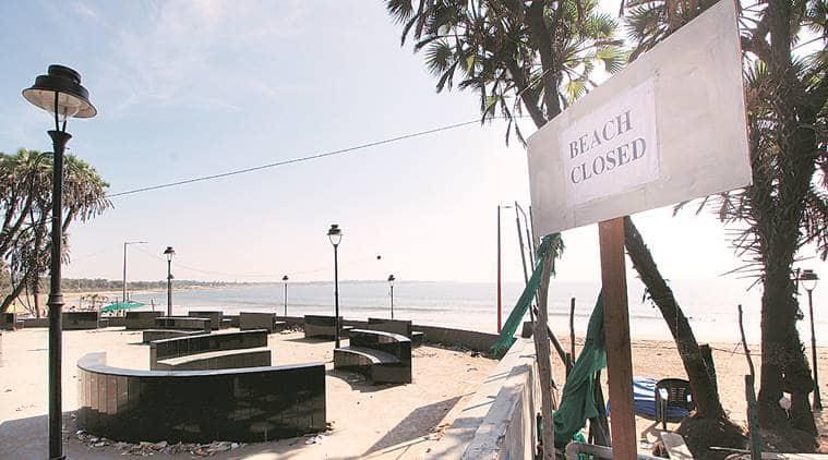 Diu beaches shut, tourist spots deserted