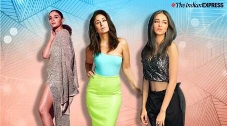 reception outfits, reception dresses, girls night out party outfit ideas, alia bhatt latest photos, ananya pandey latest photos, deepika padukone latest photos,kareena kapoor latest photos, celeb fashion, lifestyle, indian express