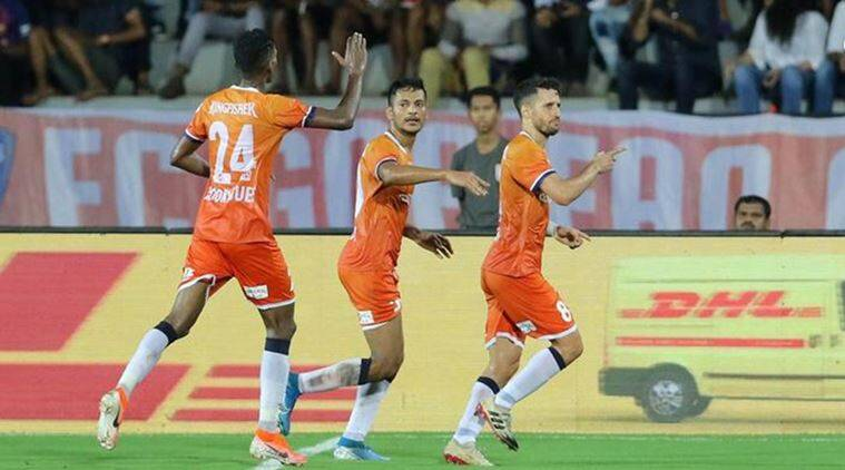 FC Goa win goal-fest in ISL 2019
