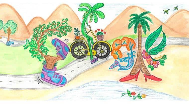 children's day, happy children's day, google doodle, doodle for google 2019, doodle for google 2019 winner, jawaharlal nehru birthday, children's day wishes, indian express