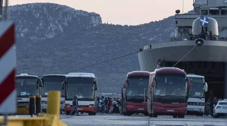 greece migrants, afghan migrants in greece, migrants in europe, greece news, world news