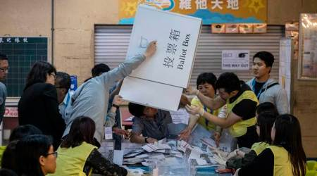 Hong Kong election landslide signals more frictions with Beijing