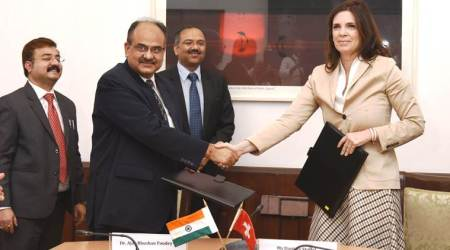 india switzerland, india switzerland tax authorities meet, india switzerland relations, swiss bank black money, indians money in swiss bank, indian express news