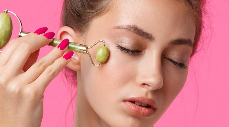jade rollers, do jade rollers work, jade rollers uses and benefits, how to use jade rollers, skincare, skincare tips, indian express, lifestyle