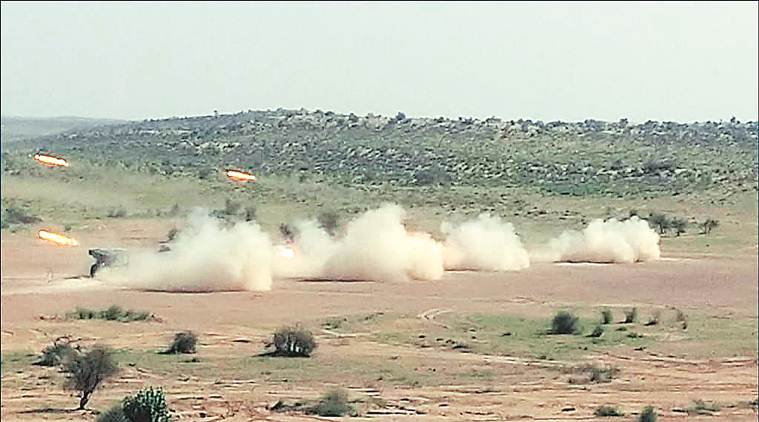 With 40,000 troops, Army exercise in Thar desert assesses capability to strike at enemy territory