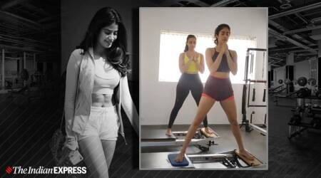 Pilates, Janhvi Kapoor, Pilates Namrata Purohit, indianexpress.com, indianexpress, Joseph Pilates, toned look, Pilates Girls, Kriti Sanon, pilates slow workout benefits, what is fluid movement, fitness goals,