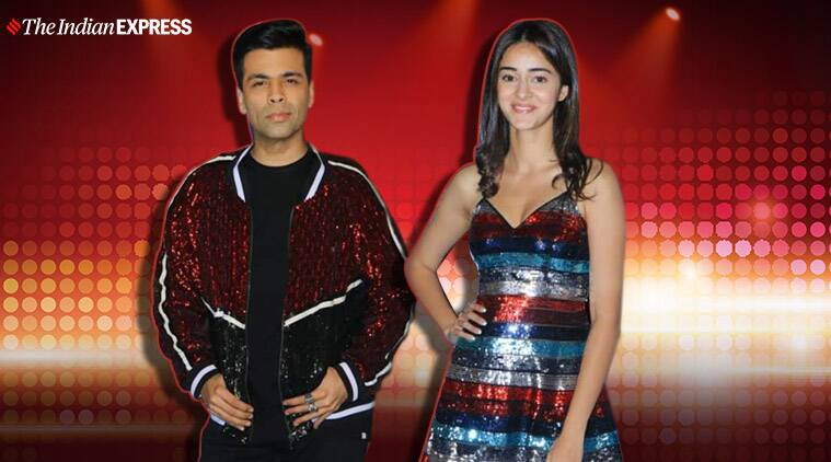 karan johar, shane peacock, gauri khan, ananya panday, gauri khan, indian express, indian express news