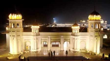 Kartarpur, Kartarpur corridor, Kartarpur ceremony, Kartarpur pilgrims, Attari-Wagah, Manmohan Singh, Dera Baba Nanak, Pakistan kartarpur, guru nanak birthday, india pakistan relationship, indian express
