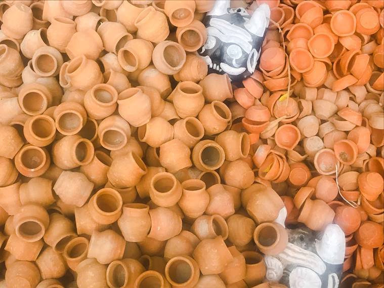 pottery, eco-friendly pottery, pottery in India, types of pottery