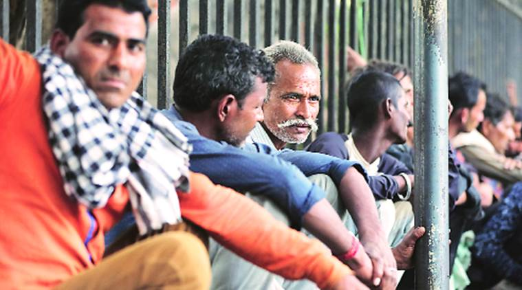 Ahmedabad: Stuck amid lockdown, labourers are hungry