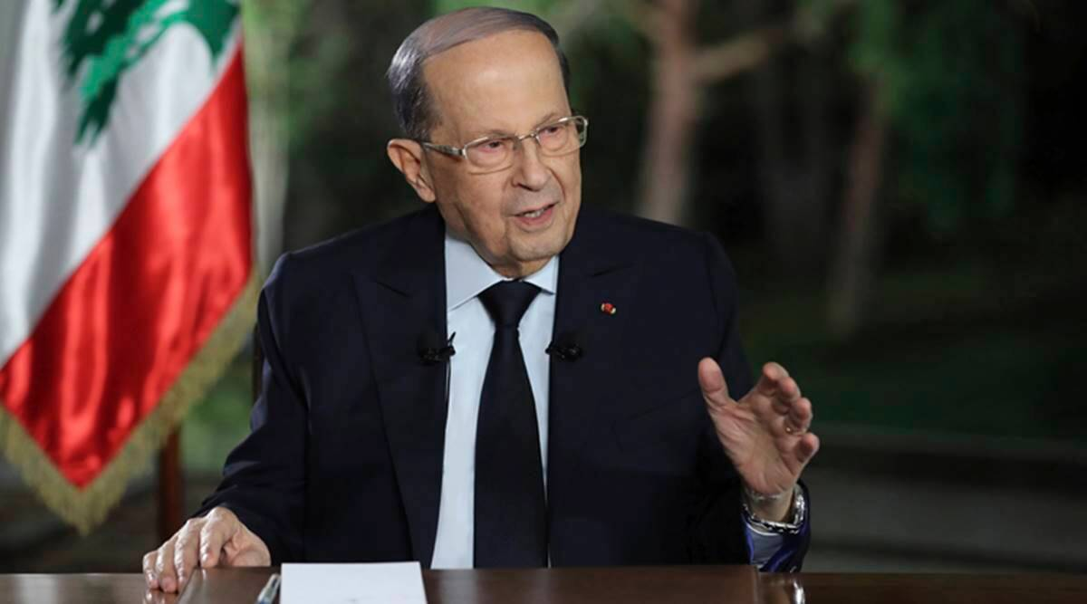 Lebanese President criticised, Tea Gifted by Sri lanka, Lebanese President Sri lanka tea, Lebanon President Michel Aoun, world news, Indian express