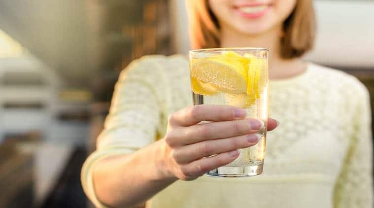 lemon water, health benefits, indian express, indian express news
