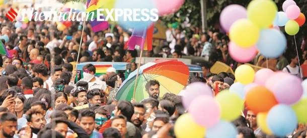 LGBTQ pride parade, delhi pride parade, lgbtq community, lgbtq rights, indian express