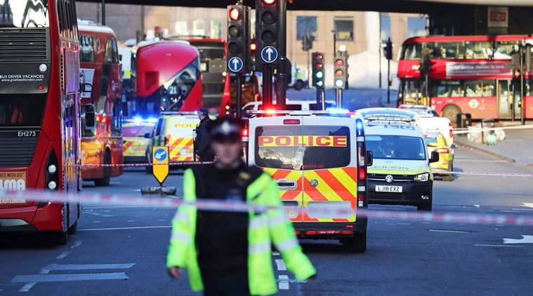 Person believed to have been stabbed in London Bridge area, suspect shot