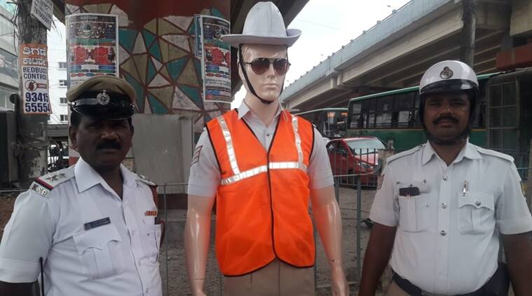 mannequins-Bangalore-traffic-police-Traffic-