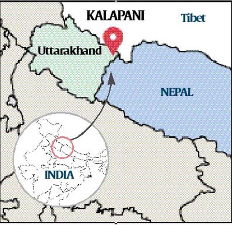Kalapani, kalapani India Nepal, India Nepal relations, jammu kashmir bifurcation, india new map, india map jammu kashmir, nepal border india map