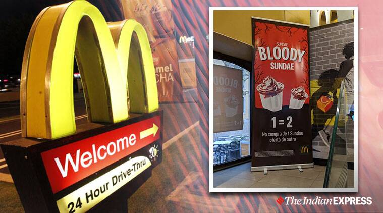 McDonald makes Bloody Sunday reference to promote Halloween special ice cream, McDonald apologises after Bloody Sunday reference to promote Halloween special ice cream, Ireland Bloody Sunday, Northern Ireland massacre, 1972 massacre, Trending, Indian express news