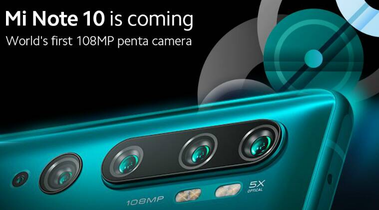 Xiaomi Mi Note 10 with 108MP camera launching in PH