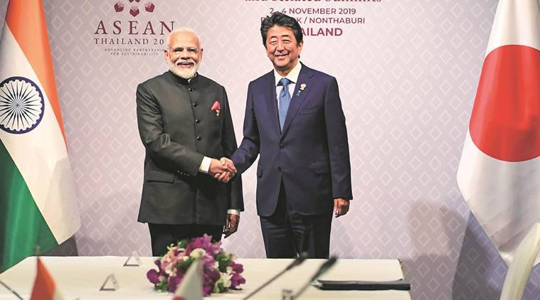 India Japan relations, Japan India relations, India Japan 2+2 dialogue, 2+2 dialogue India Japan, India news, Indian Express