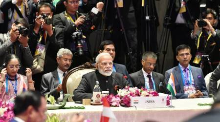 modi at asean, asean summit 2019, modi at asean, modi in bangkok, asean news
