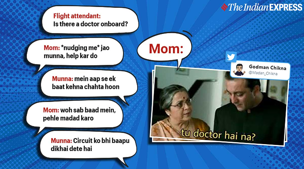 These Desi Doctor On The Flight Jokes Have People In Splits On