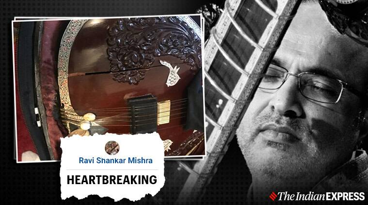 Musician blames airlines for damaging his instrument, Shubhendra Rao accuses air India of damaging his instrument, Shubhendra Rao sitarist, air India, air India flights, Trending, Indian express news
